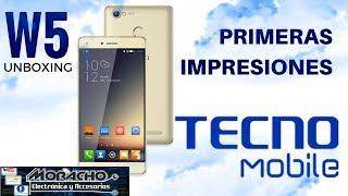 Tecno W5 Primeras Impresiones | Unboxing & Review |