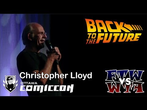 Christopher Lloyd - Ottawa ComicCon Q&A Panel