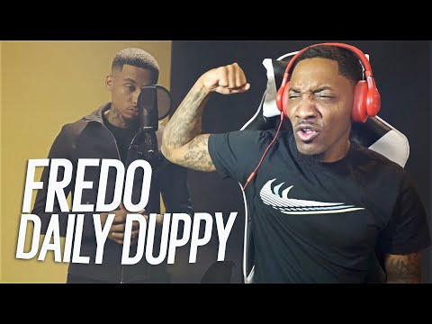 AMERICAN REACTS TO UK RAPPER🇬🇧 – FREDO – Daily Duppy | (REACTION!!!)