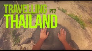 Travelling Thailand Pt 2(GoPro Hero3) Chiang Mai Jungle Trek