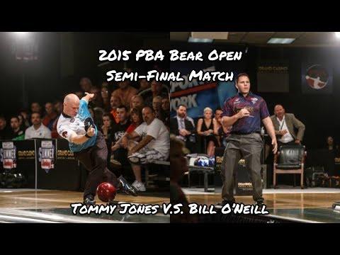 2015 PBA Bear Open Semi-Final Match - Tommy Jones V.S. Bill O