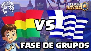 CR WORLDS - BOLIVIA VS GRECIA - KManuS88 - Clash Royale