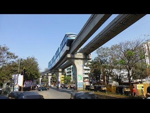 Mumbai Monorail February 2014