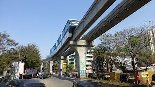 Mumbai Monorail February 2014