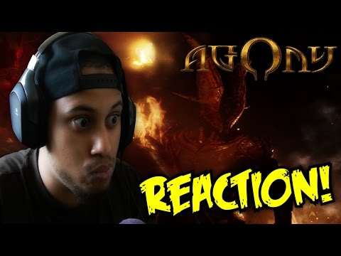 SCARIER THAN P.T.!? Agony Demo Gameplay Gamescon 2016 REACTION