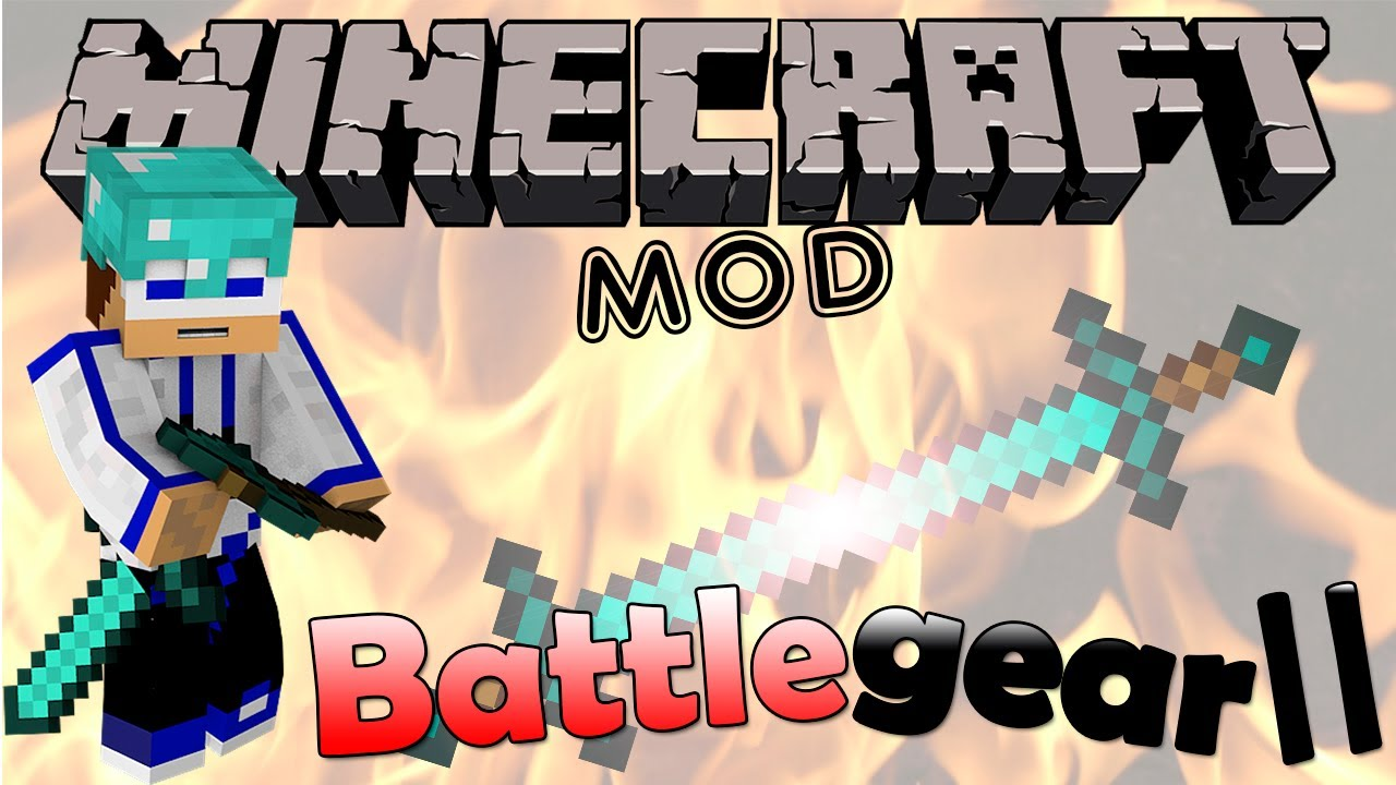 Мод на две руки (mine & blade battlegear 2) для minecraft 1. 7. 10.