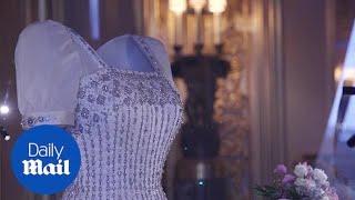 Princess Beatrice wedding dress goes on display at Windsor Castle