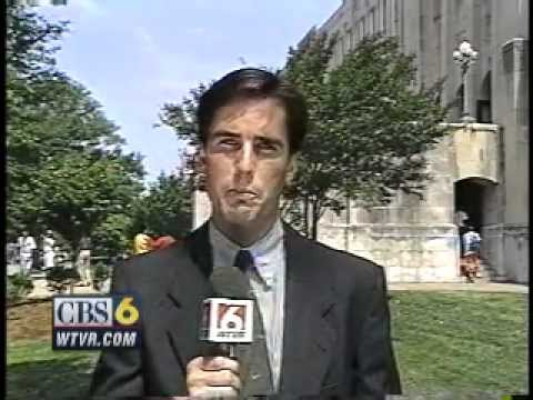 CBS 6 VIDEO VAULT: May 25, 1993 - Thomas Jefferson High School rally