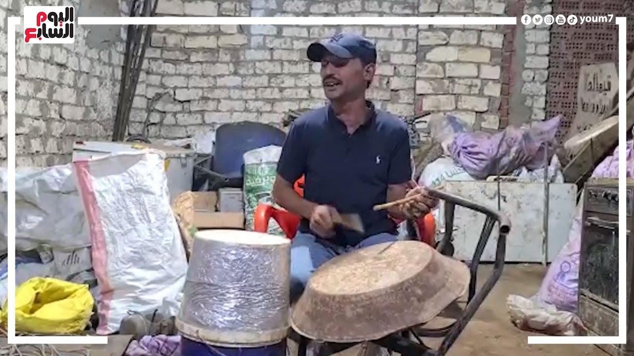 صورة فيديو : أسمع واحكم بنفسك عزفه على الجردل والطشت يستاهل يتشهر ولا لأ