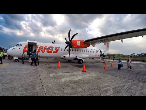 Wings Air IW1720 Flight Review Jakarta to Bandung (No Talk No BGM #2)