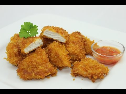 Knusprige Chicken Nuggets selber machen