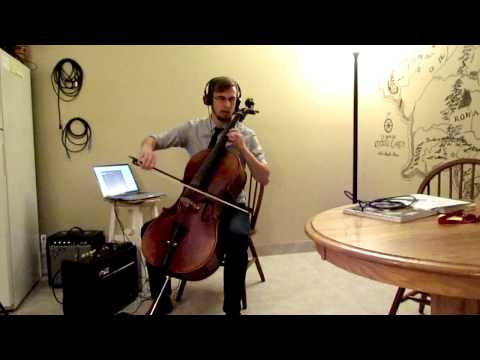 Fishman C-100 Cello Pickup Looping Play-Test And Review
