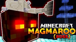 Minecraft | MAGMAROO BOSS BATTLE! | Minecraft Space Tower Challenge