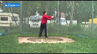 Gestes de l'athlétisme - le lancer du marteau