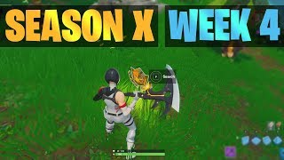 Fortnite Secret Battle Star Location SEASON X / 10, WEEK 4