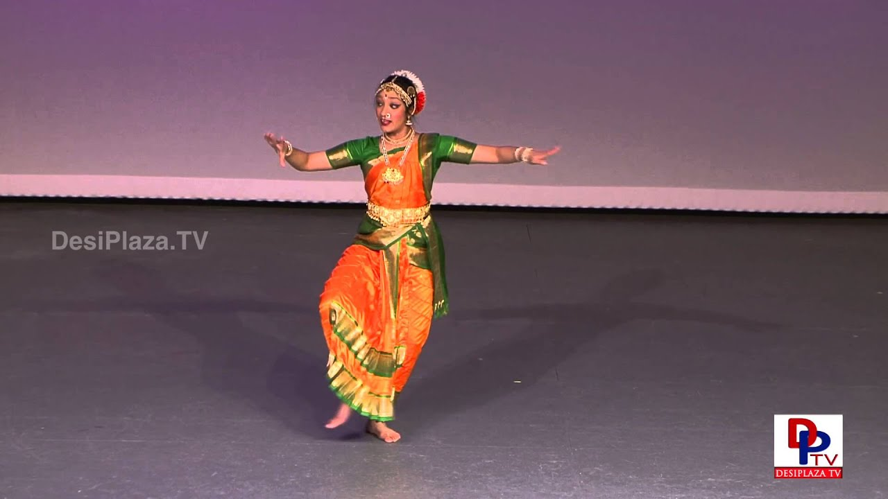 Ananya Ponangi performing Dance for Nama Shivaya at Dance for Cure Event.