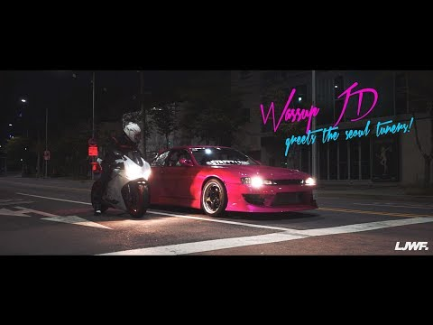 Wassup JD greets the seoul tuners  NISSAN S14 SILVIA