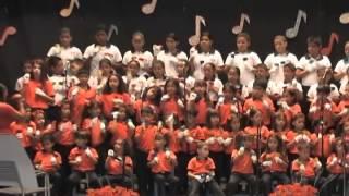 Coro de Campanas Tubulares, Coro de Campana de Colores y Boomwhackers.