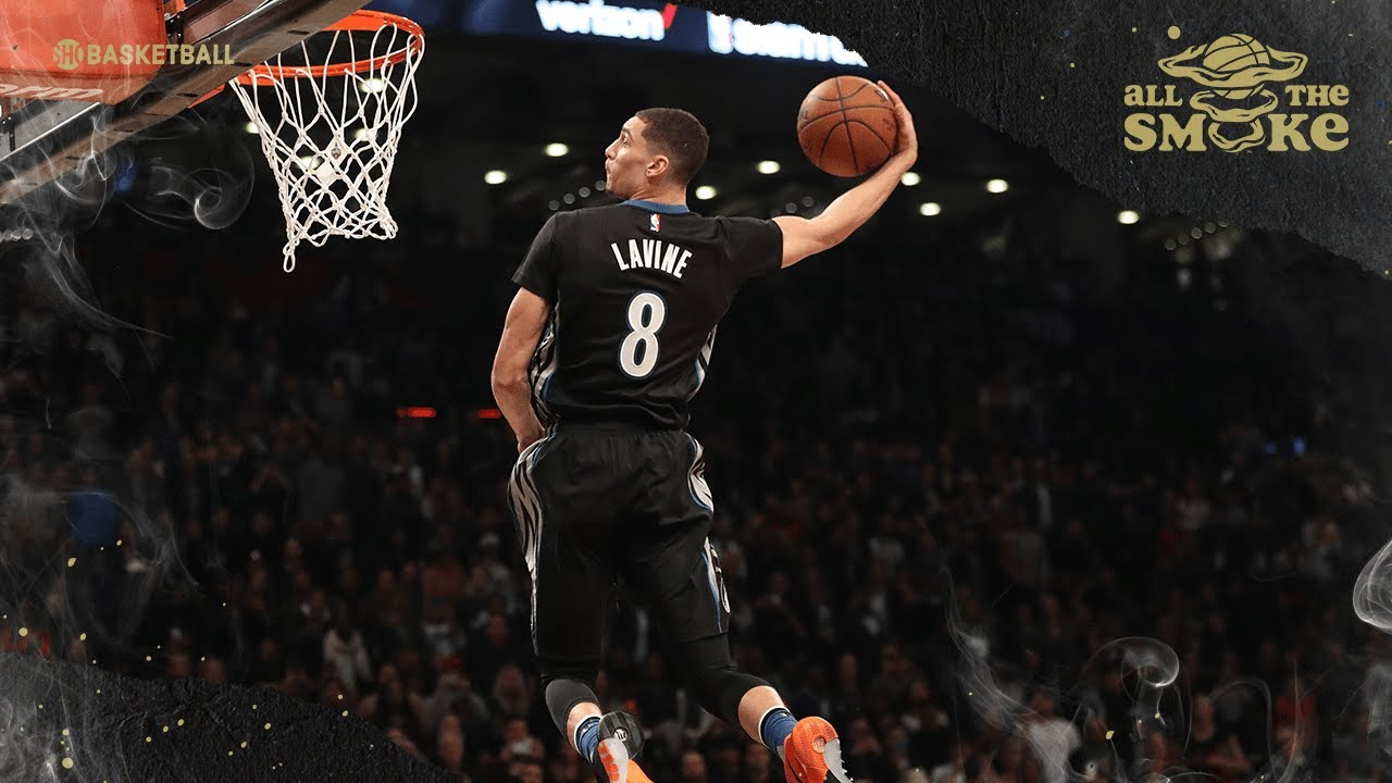Zach LaVine Talks Infamous 2016 Dunk Contest w/ Aaron Gordon & 2021 All-Star Game | ALL THE SMOKE