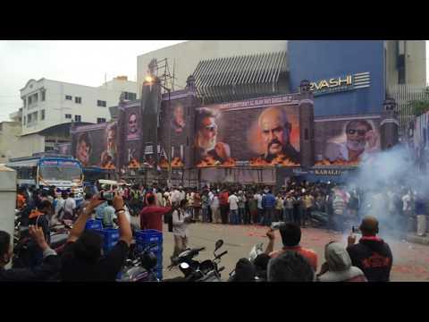 Kabali FDFS Bangalore Urvashi Theater