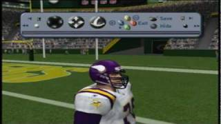 Blast From the Past Game 1: Madden NFL 2002 (Vikings v. Packers)