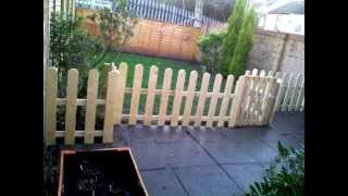 Free Fence From Old Pallets