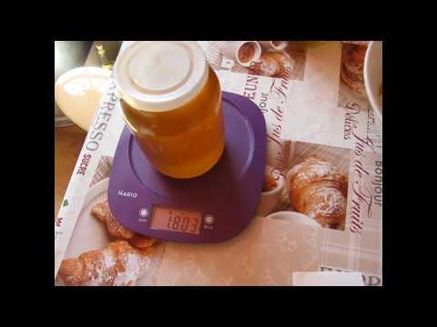 Какой вес у мёда