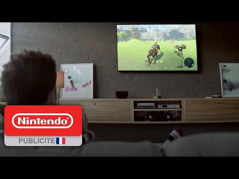 Publicité Nintendo Switch  – «Quand je veux, où je veux, avec qui je veux»