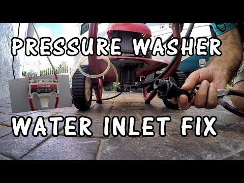 REPAIR PRESSURE WASHER WATER INLET TROYBILT   POWER WASHER