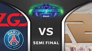 PSG LGD vs RΝG - SEMI FINAL - CHINA PRO CUP S1 Dota 2 Highlights 2020