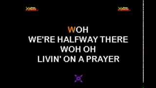 Bon Jovi - Livin on a prayer KARAOKE