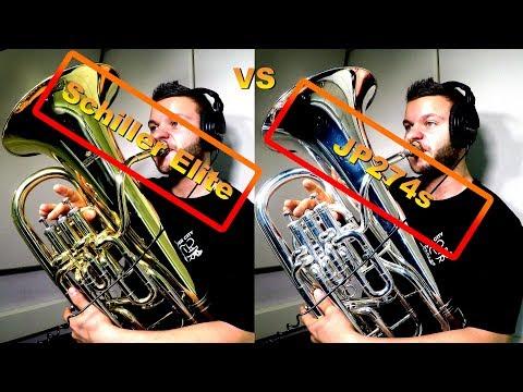 JP274s vs Schiller Elite. Best CHEAP Brass Instruments