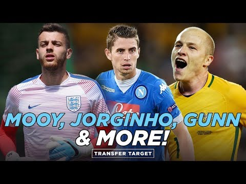AARON MOOY BACK TO CITY? ANGUS GUNN OUT? JORGINHO? | TRANSFER TARGET