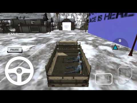 Army Truck Transporter Driver HD Android Gameplay By Thunder Gamers