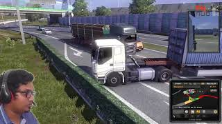 Loriyak ! Euro Truck Simu 2 sinhala gamplay | myHub.lk