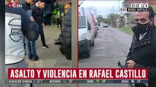 Rafael Castillo: un panadero mató a uno de los delincuentes que quiso asaltarlo
