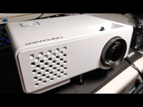 Is It Lit or Nah: DBPOWER RD810 Mini 1080p Gaming Projector Review (UK) (Nintendo Switch)