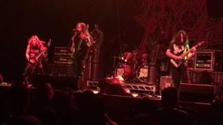 Morbid Angel - Warped Salt Lake City, UT 6/10/17
