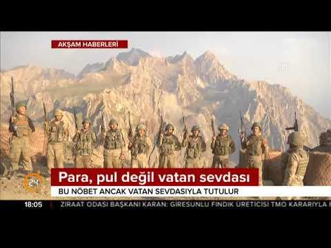 Mehmetçik İkiyaka Dağları'na girdi terör yuvalarını teröristlere mezar et