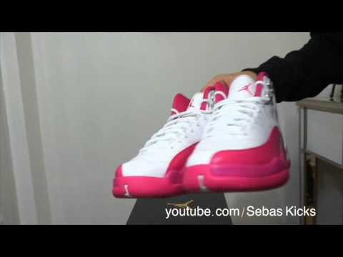 Unboxing Jordan Retro 12 Gs Valentine S Day Vivid Pink Youtube