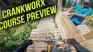 Crankworx Innsbruck Downhill Course Preview - Fabio Wibmer