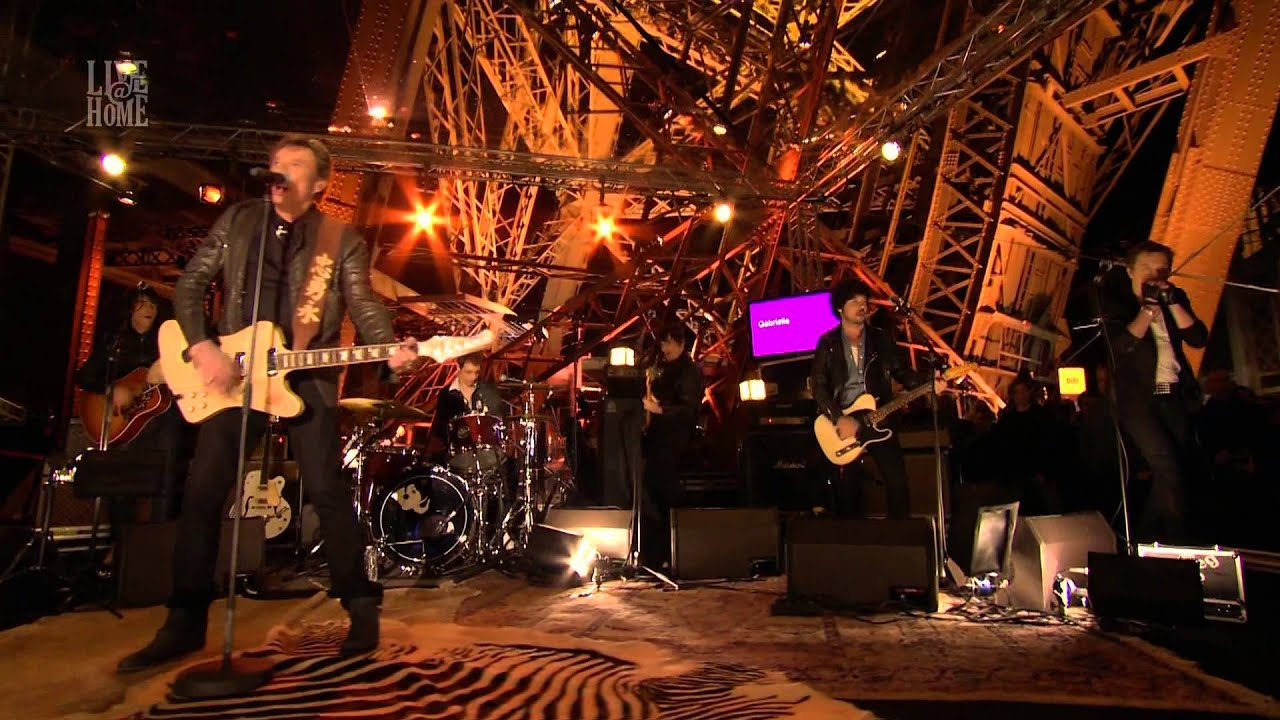 Johnny Hallyday - Live@Home - Tour Eiffel