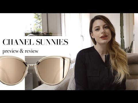3ff101d92e CHANEL 18 carat GOLD SUNGLASSES review and unboxing - YouTube