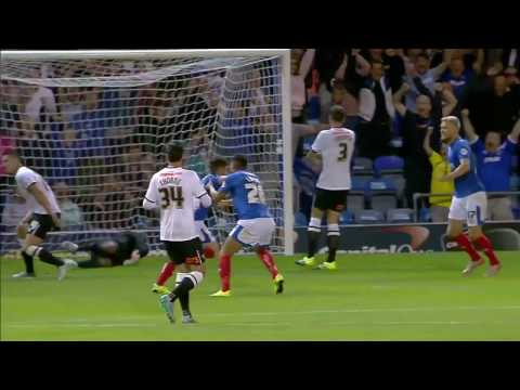 Conor Chaplin selects his own top three Pompey goals