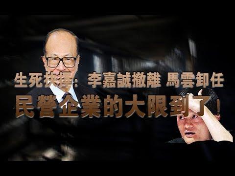 生死抉择:李嘉诚撤离 马云卸任 民营企业的大限到了!