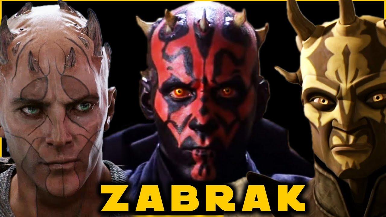 Zabrak Species COMPLETE Breakdown (Iridonian & Dathomirian) - YouTube