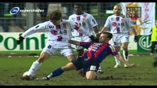 Caen / Lyon 1-0 (28ème journée Ligue 1 2004-2005)