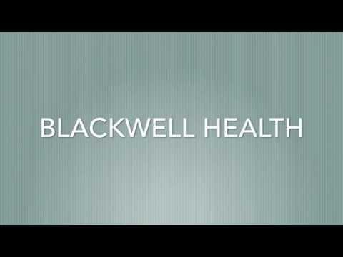 Blackwell Health App