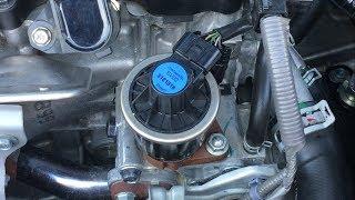 Honda EGR Valve Cleaning DIY