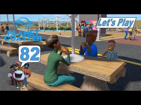 Planet Coaster #82 Burger sind für alle da #Achterbahn Simulator #deutsch #HD #lets play #Freizeit